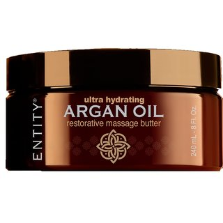 Entity- ARGAN  RESTORATIVE MASSAGE BUTTER  leider...